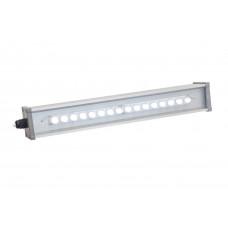 Линейный светодиодный светильник линзованный LINE-P-055-70-50- 72вт,8132лм,5000К.680х65х65 мм.