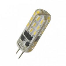 Лампа светодиодная G4 3W, 220V, 230Лм, 3000K LEEK