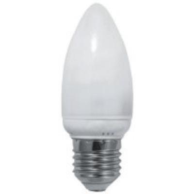 Лампа светодиодная E27 СВЕЧА 8W, 640Лм, 4000K Дневная белая LEEK
