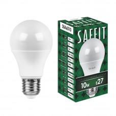 Лампа светодиодная Е27 Груша A60 - 10Вт, 800Лм, 4000K Дневная белая SAFFIT Feron