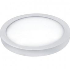 Светодиодный светильник накладной КРУГ 48W, 3360Лм, 4200К, D600х40мм Белый