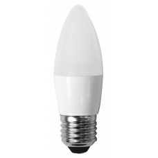 Светодиодная лампа СВЕЧА С35-5W-230-4000K-E27-410лм дневная белая SWEKO