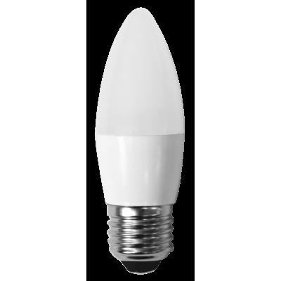 Светодиодная лампа СВЕЧА С35-7W-230-4000K-E27-600лм дневная белая SWEKO
