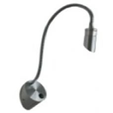 LED светильник настенный WL  Черный 3Вт 3000BQ003103-A-3-BL-WW