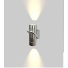 Бра двухстороннее SPRUT Серебро 6Вт 3000 54 GW-A213-6-SL-WW