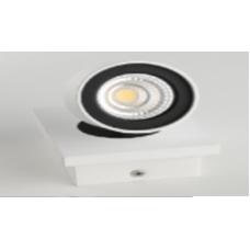 LC258-1 COB-W Накладной Светильник мат белый 4000K 3W (LEVEL-COB-W)
