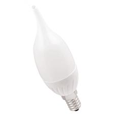 Лампа светодиодная E14 СВЕЧА на ветру 7W 630Лм 3000К Тепло-белая LEEK