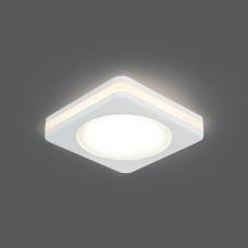 Светильник Gauss Backlight BL100 Квадрат. Белый, 5W, LED 3000K