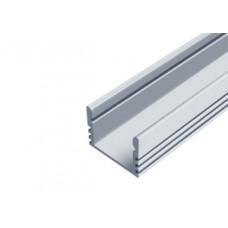 СПН1612 (ЛП-12) светодиодный профиль накладной, алюминиевый, анодированный 2000х16х12мм