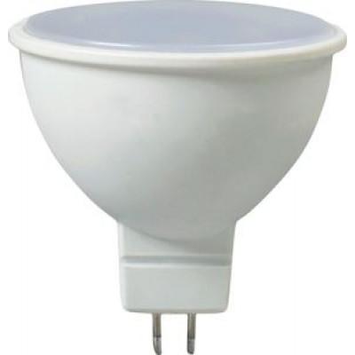 Лампа светодиодная MR16 GU5.3 - 5W, 220В, 400Лм, 4000K LEEK (JB)
