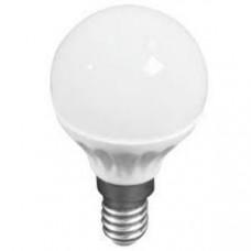 Лампа светодиодная E14 ШАР 6W 470Лм 3000К Тепло-белая LEEK