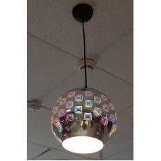 Светильник подвесной SPECTRUM 3D Хром Шар