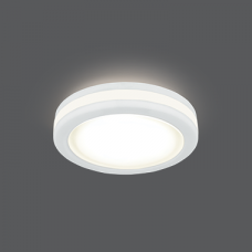 Светильник Gauss Backlight BL098 Кругл. Белый, 5W, LED 3000K