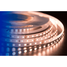 Лента светодиодная LUX CRI 93 SMD 2835 98 led/10w на метр 24V IP33 1000lm тепло-белая 3000К 5000×8×2