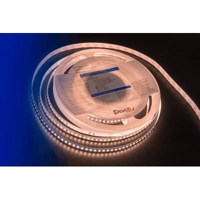 Лента светодиодная LUX CRI 93 SMD 2835 168 led/17w на метр 24V IP33 1600lm тепло-белая 3000К 5000×8×