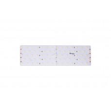 Лента светодиодная LUX CRI 93 SMD 2835 350 led/31w на метр 24V IP33 3100lm дневная белая 4200К 2500×